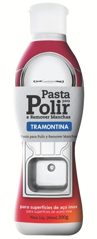 Pasta para Polir e Remover Manchas em Aço Inox - Tramontina