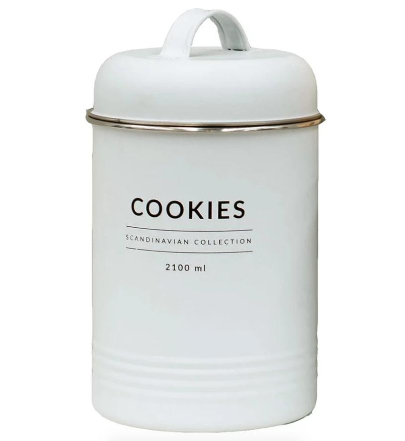 Porta Condimentos Copenhagen - Cookies Branco 2100ml - Yoi