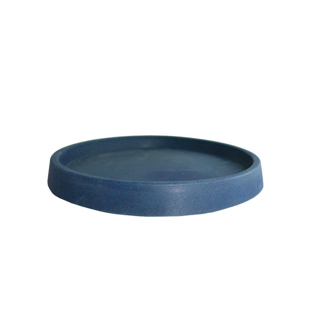 Prato tamanho G - Azul Macaúba - Vasap