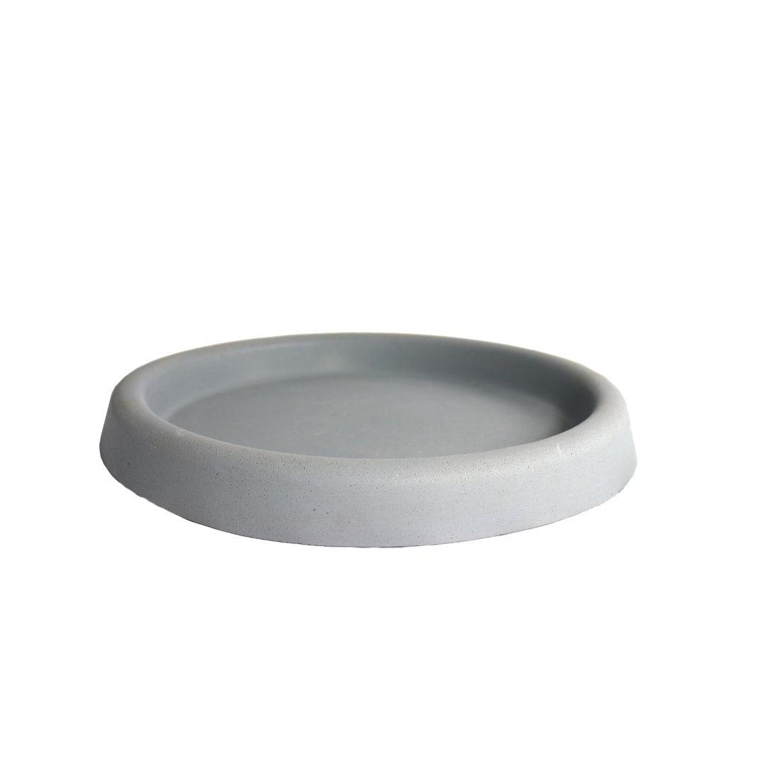 Prato tamanho G - Cinza Granito - Vasap