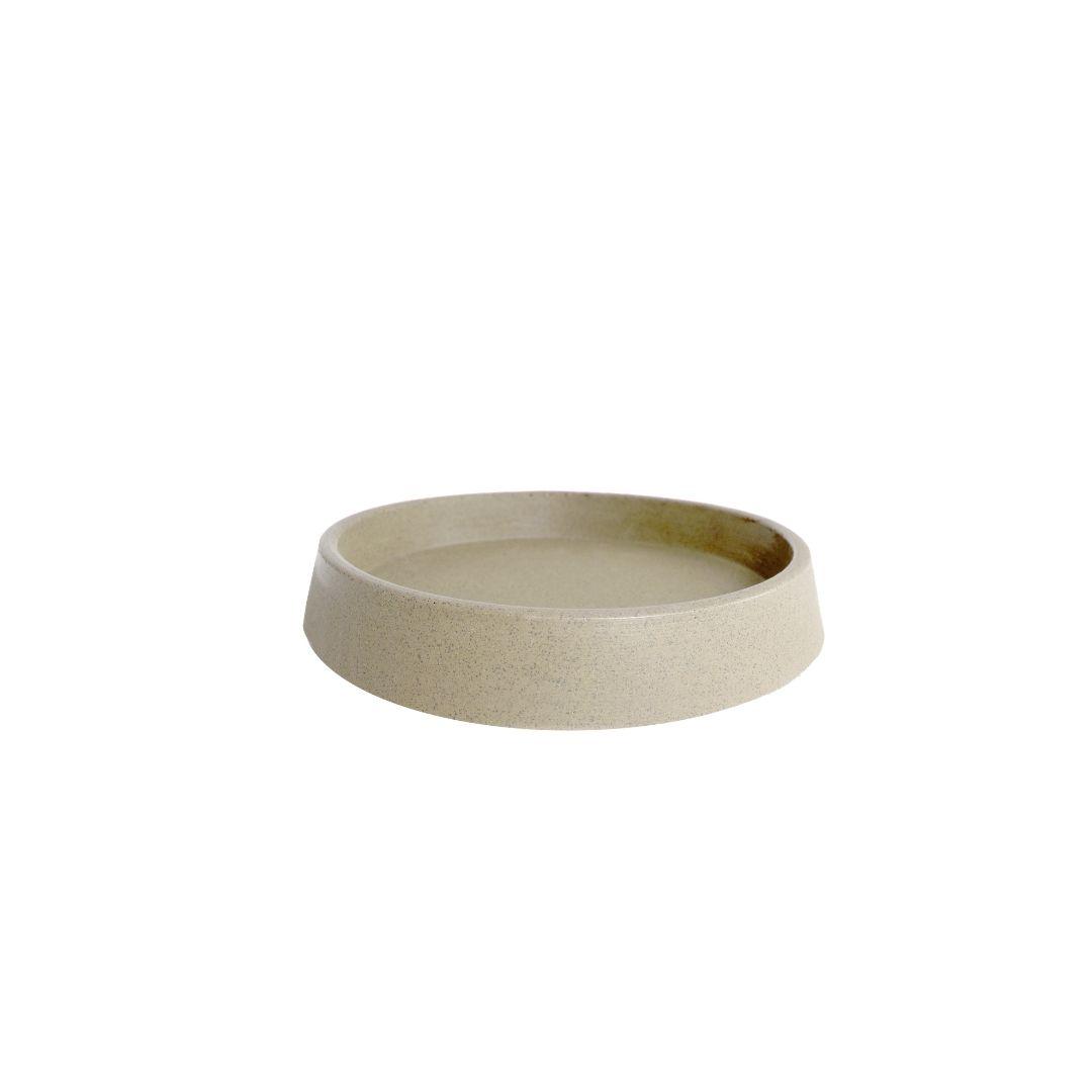 Prato tamanho P (21) Areia - Vasap