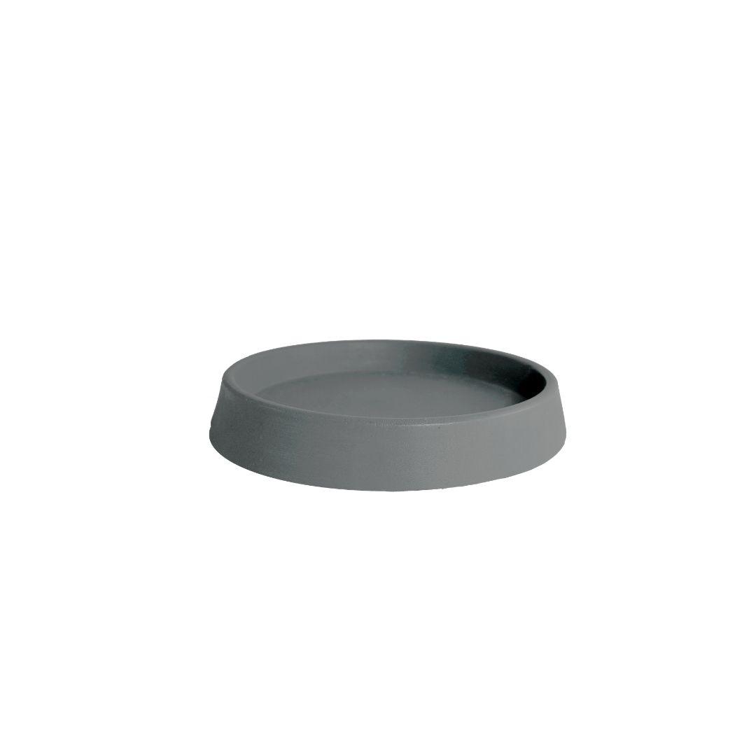 Prato tamanho P (21) Cinza Granito - Vasap