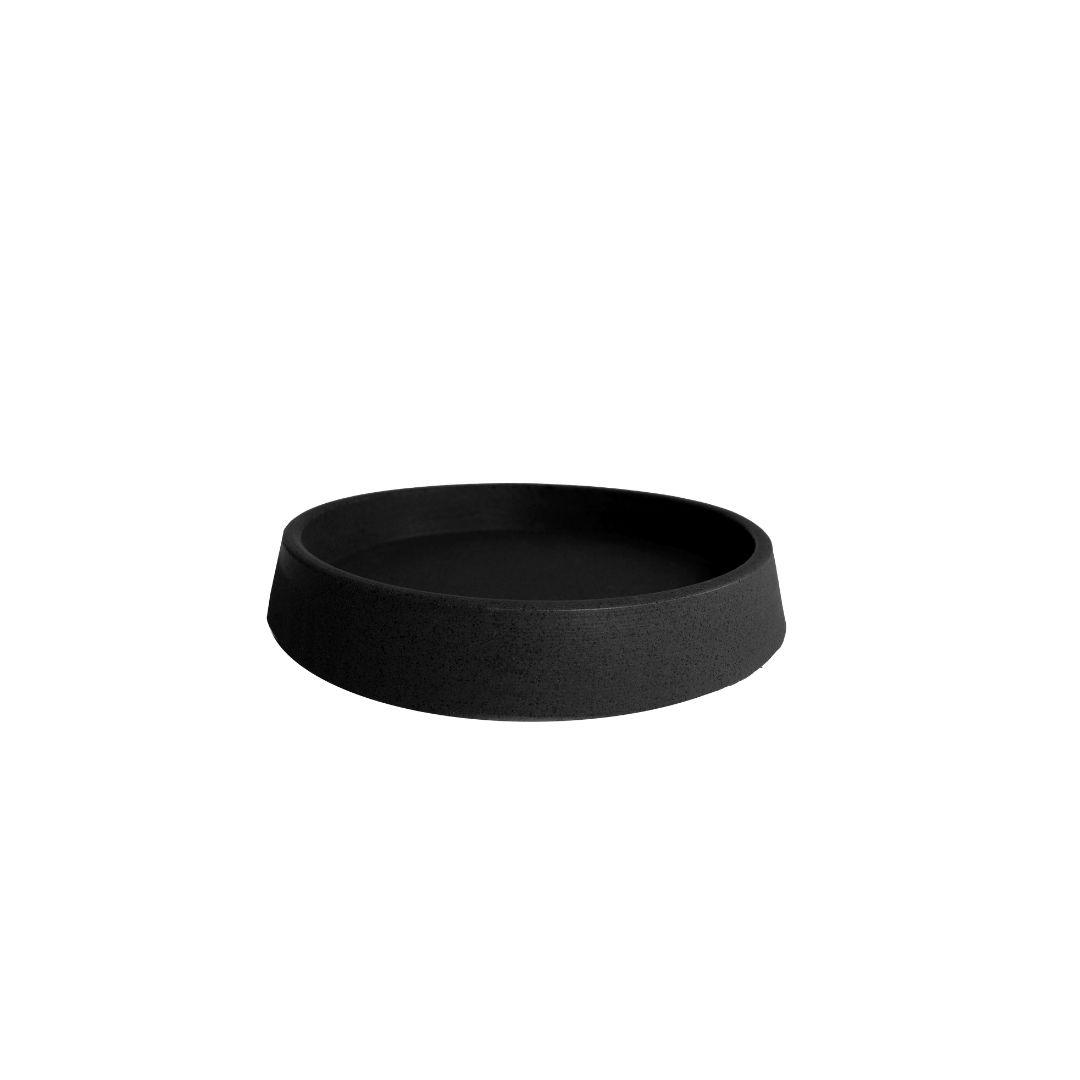 Prato tamanho P (21) Preto Absoluto - Vasap