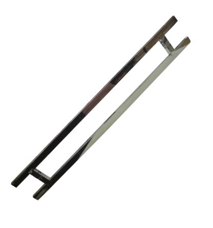 Puxador para Porta em Aço inox polido - DF 942-202 - Italy Line