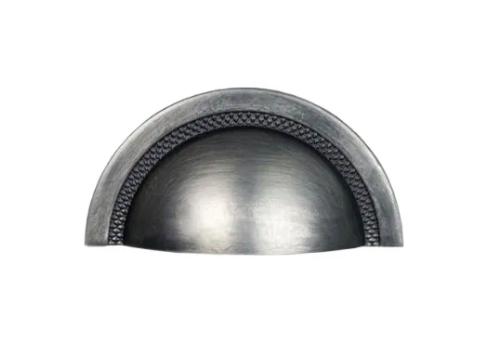 Puxador Shell 64mm - Níquel Velho - Zen Design