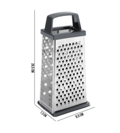 Ralador de Alimentos em Aço inox com 4 faces - Top Pratic - Brinox