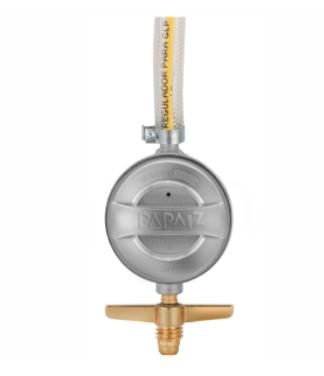 Regulador de Gás 1kg/h com Mangueira de 80cm - 904P1M08 - Papaiz