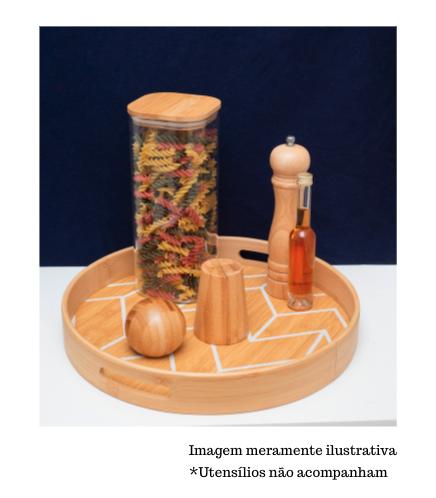 Saleiro e Pimenteiro de Bambu - Oikos