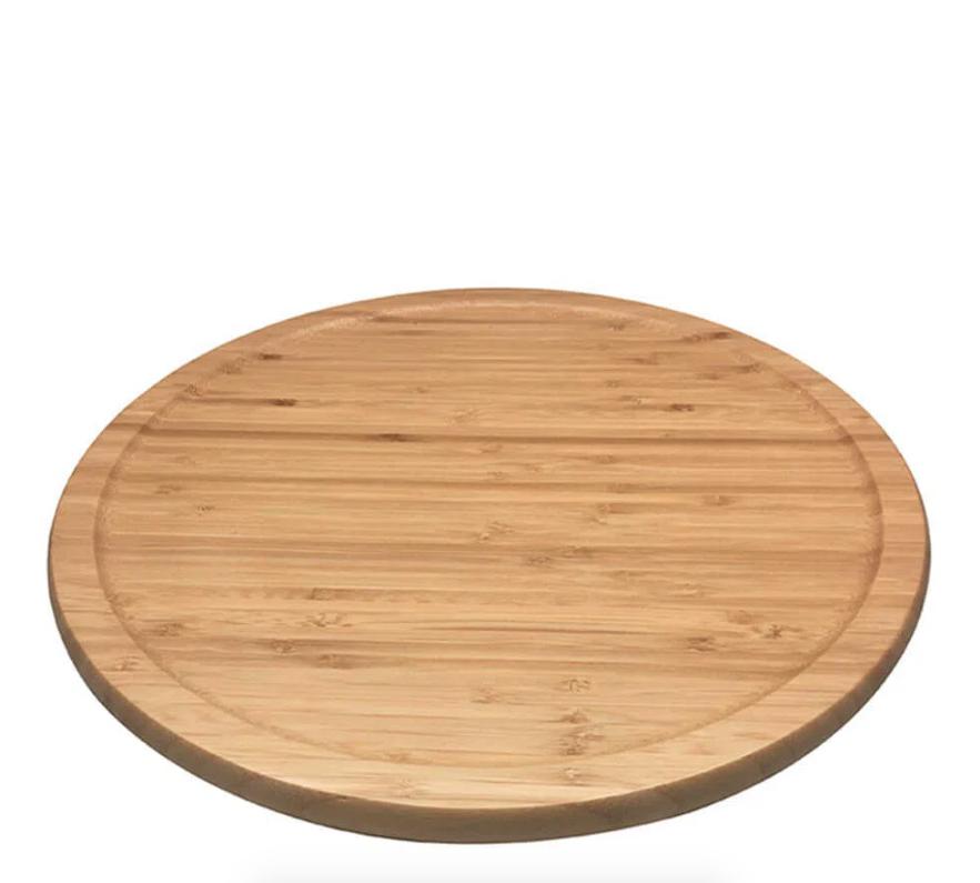 Tábua de Bambu Natural com Base Giratória - Oikos