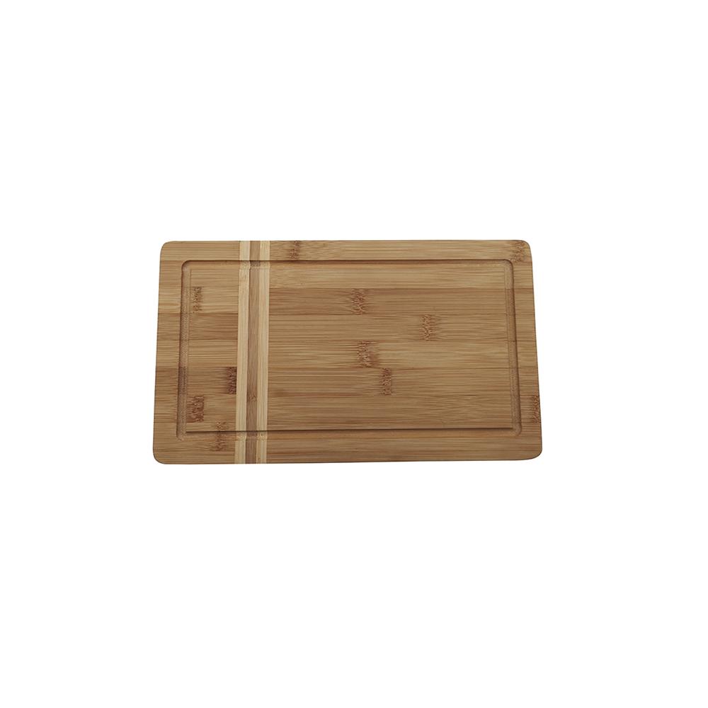 Tábua de Churrasco de Bambu Natural - 29X17 - Oikos