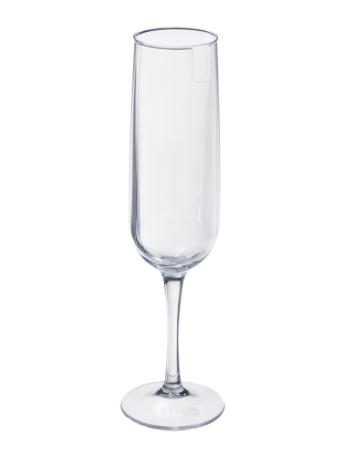 Taça de Espumante Fun - 160mL - Cristal - Coza