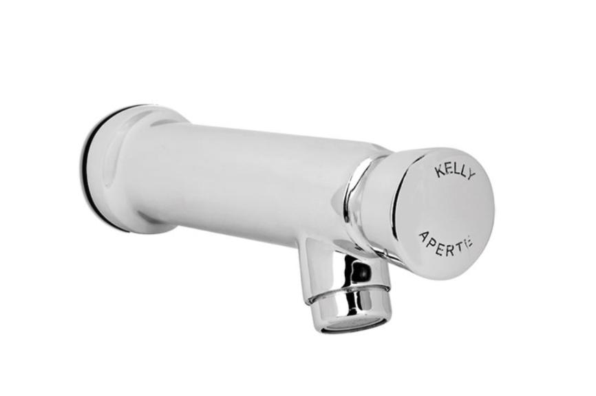 Torneira Lavatório de Parede com fechamento automático - 3096 1/2 LA - KellyMatic - Kelly metais