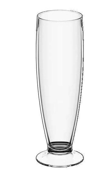 Tulipa de Cerveja Fun - 300mL - Cristal - Coza
