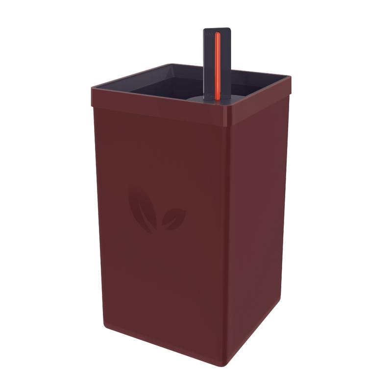Vaso Autoirrigável em Polipropileno - 800ml - Marrom - Tramontina
