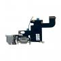 Flex Conector de Carga e Fone Apple Iphone 6G Cinza