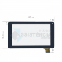 Tela Touch Dl X Pro Dual TP266BR Preto