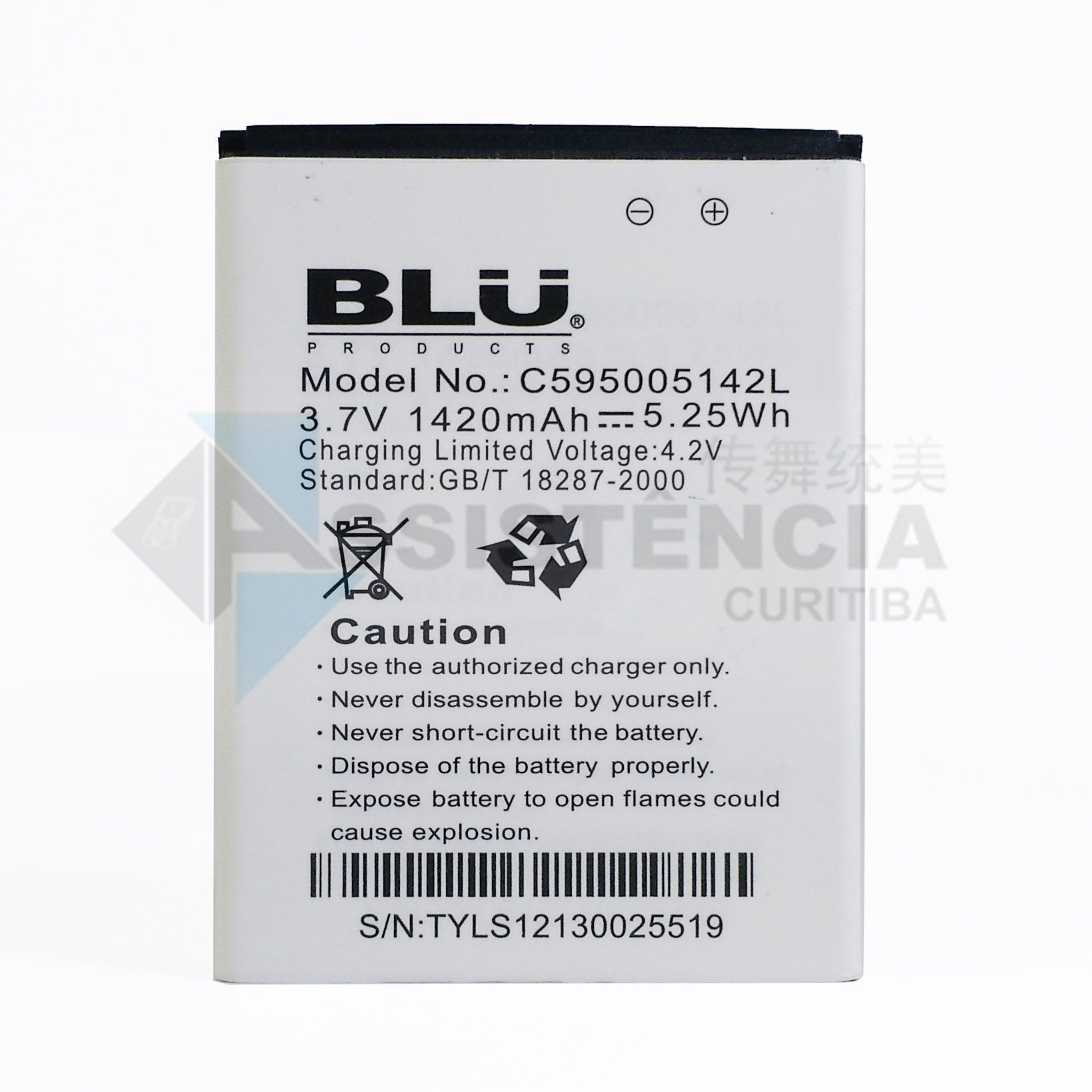 Bateria Blu Star Jr. 3.5 S350 S350A S350I Original