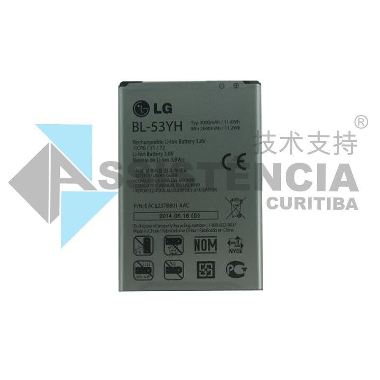 Bateria Lg G3 Bl-53Yh D855 D830 D851 D850 2940Mah