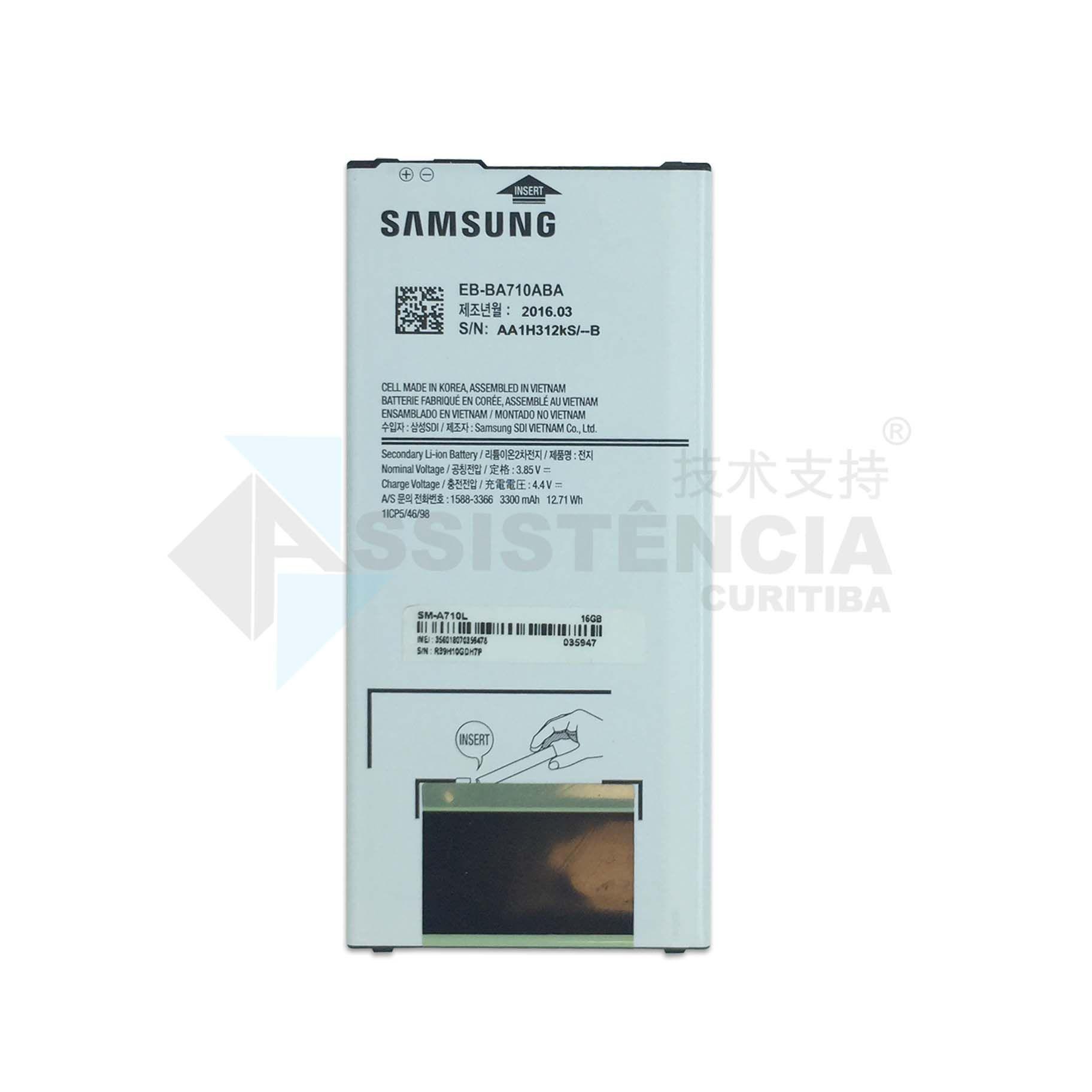 Bateria Samsung EB-BA710ABE Original