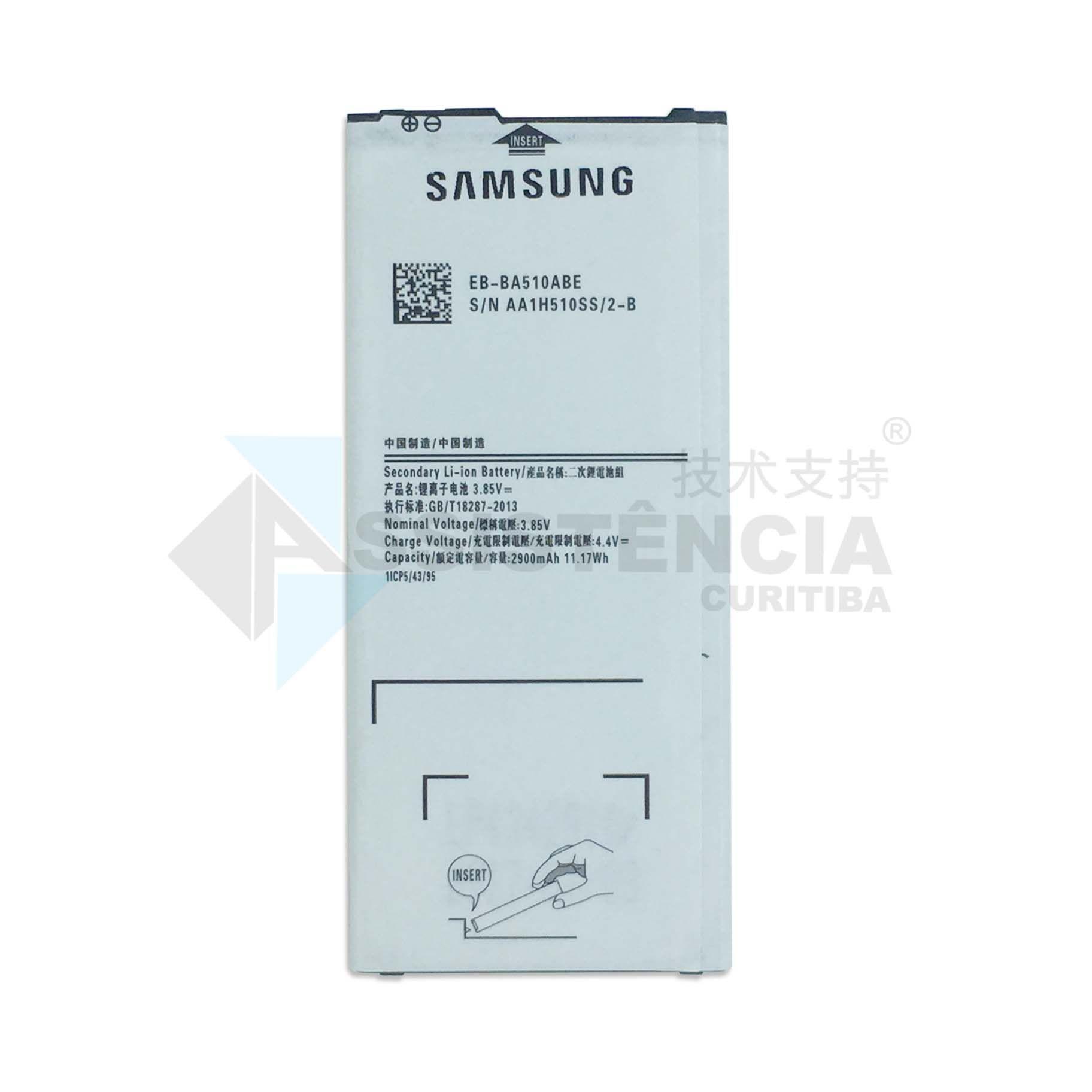 Bateria Samsung Galaxy A5 2016 SM-A510M/DS