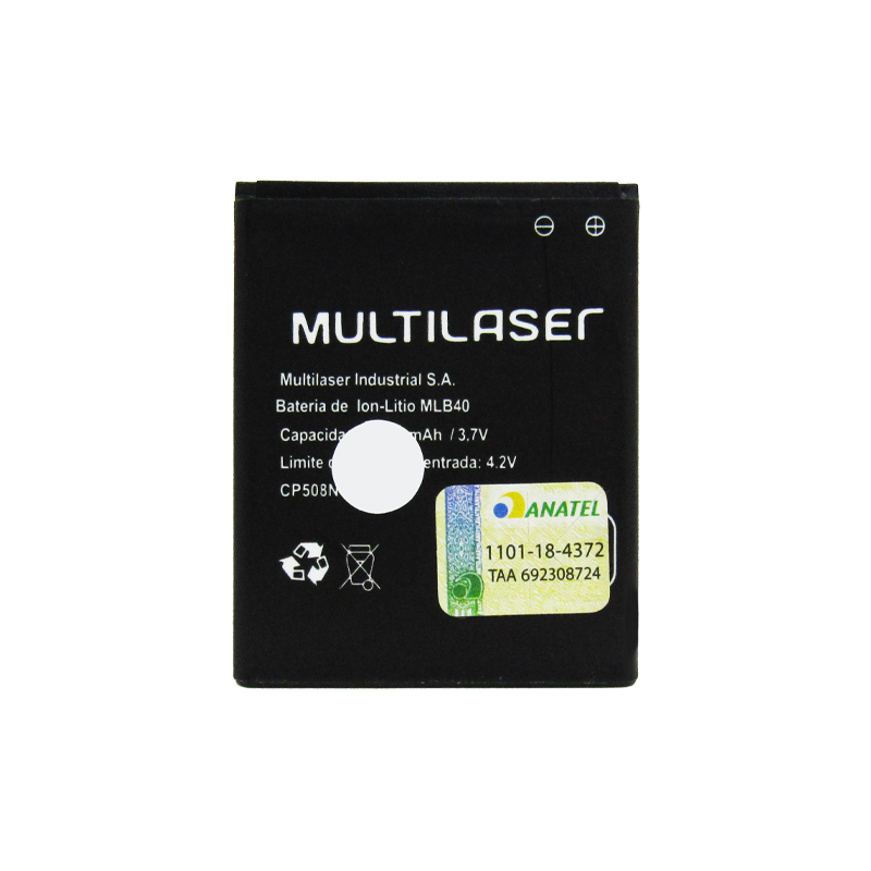 Bateria Multilaser Ms40 Mlb40