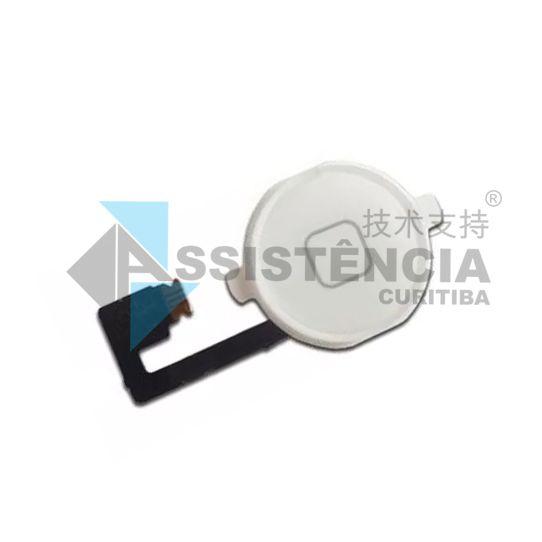 Botão Home Completo Apple Iphone 4 4S 4G Branco