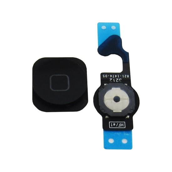 Botão Home Completo Apple Iphone 5G Preto