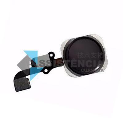 Botão Home Completo Apple Iphone 6G / 6 Plus Preto
