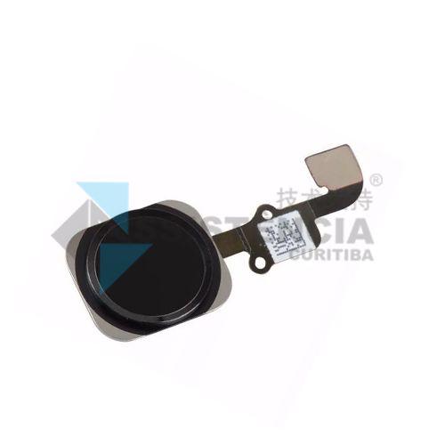Botão Home Completo Apple Iphone 6S / 6S Plus Preto