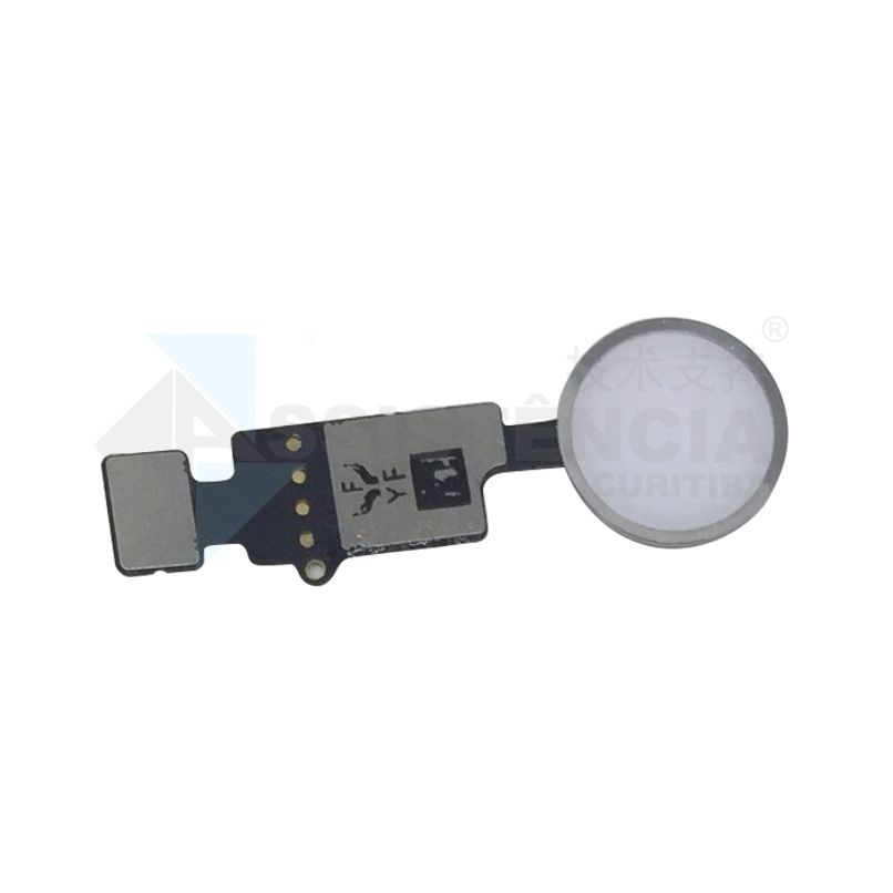Botão Home Completo Apple Iphone 7 7G / 7 Plus / 8 8G / 8 Plus Branco