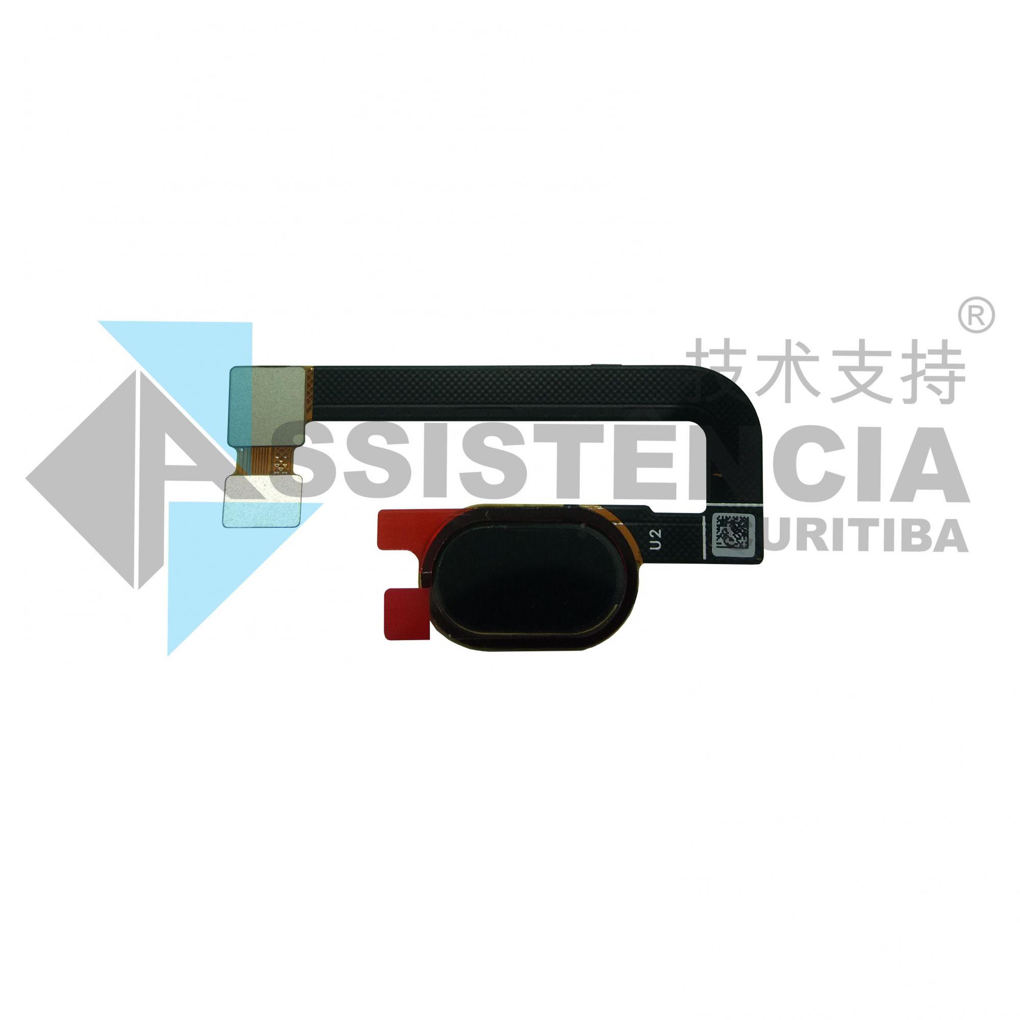Botão Home Completo Biometria Motorola Moto G5S Plus Xt1802 Original Preto