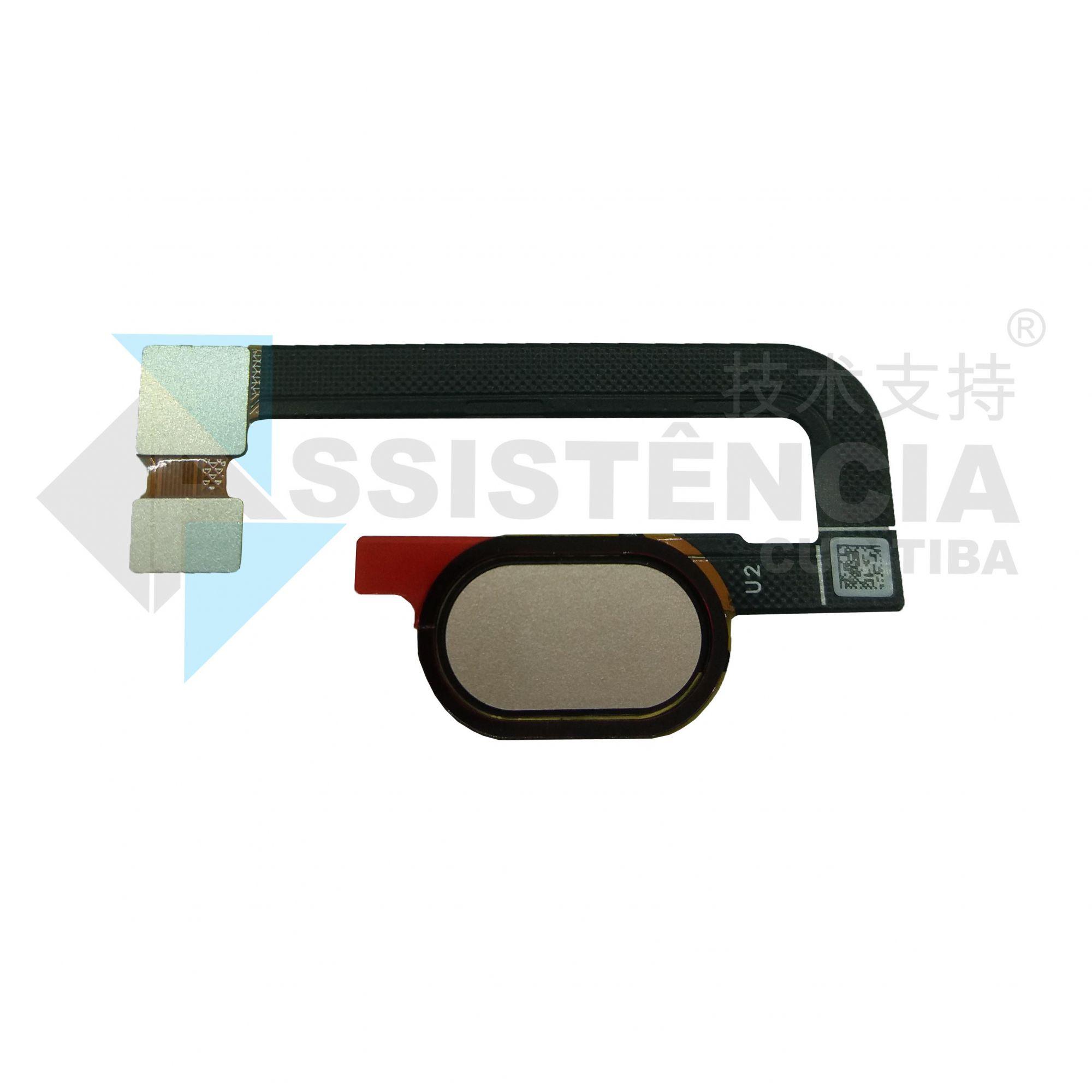 Botão Home Completo Biometria Motorola Moto G5S Plus Xt1802 Rose Original