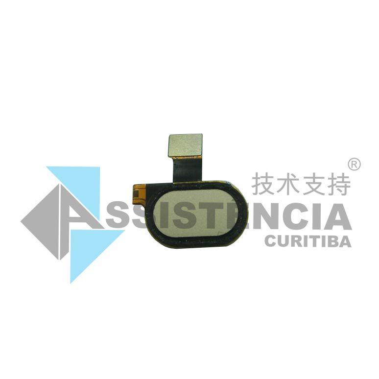 Botão Home Completo Motorola Moto G5 Xt1672 Original Dourado
