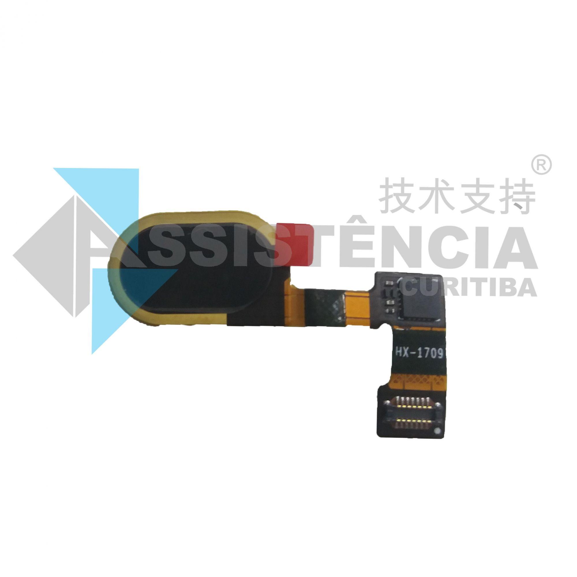 Botão Home Completo Motorola Moto G5 Xt1672 Original Preto