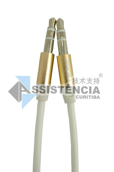 Cabo Auxiliar P2 P2 Pmcell Solid 968 Branco