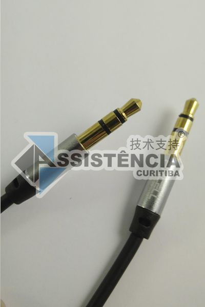 Cabo Auxiliar P2 P2 Pmcell Solid 968 Preto