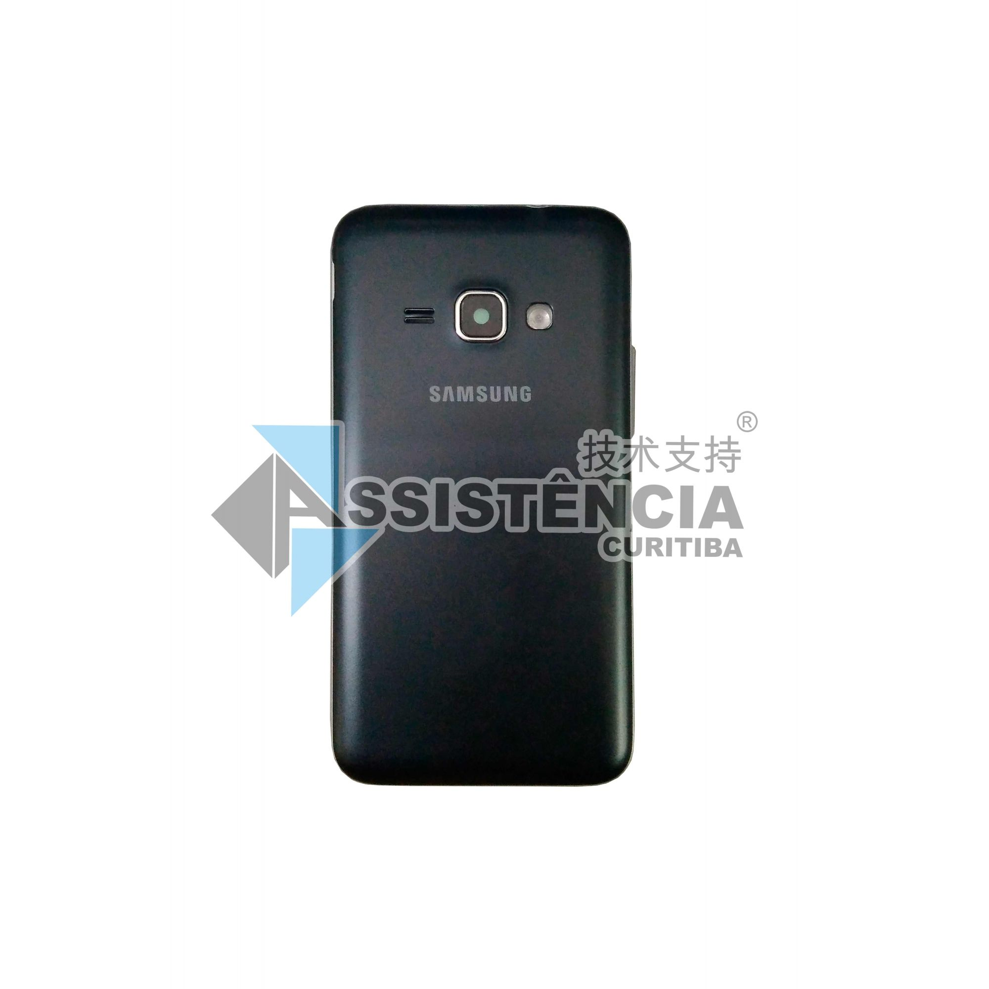 Carcaça Completa Samsung Galaxy J1 J120 Preto