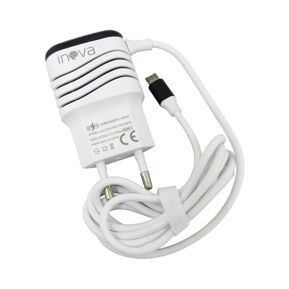 Carregador Celular Inova Car-9012 3 3.1A 2 Usb Alta Velocidade