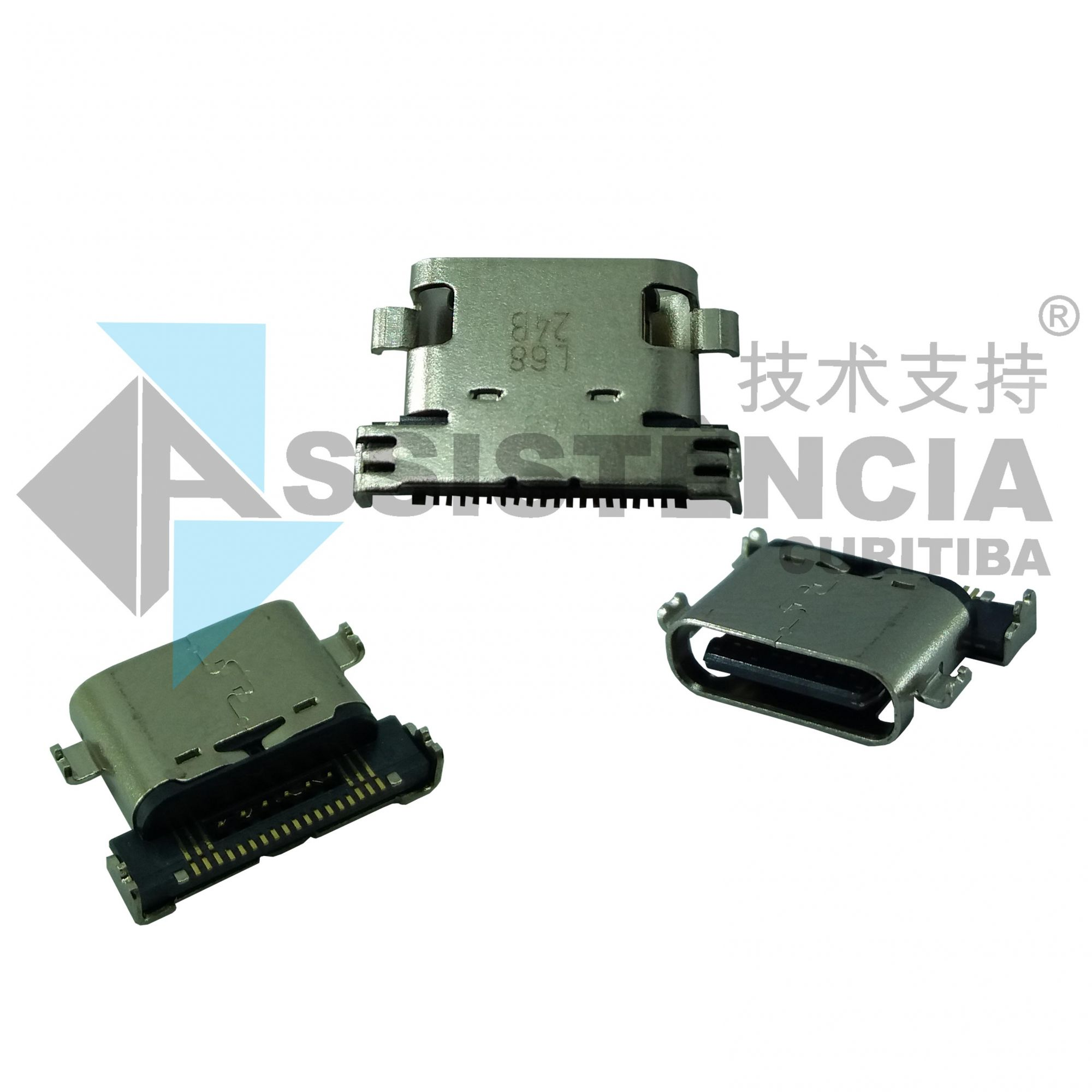 Conector de Carga Motorola Moto Z Play XT1635 Tipo C Original