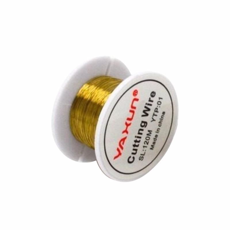 Fio De Ouro Ya Xun Cutting Wire 120M