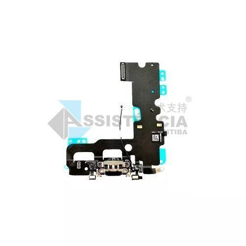 Flex Conector de Carga Apple Iphone 7 7G Original Preto