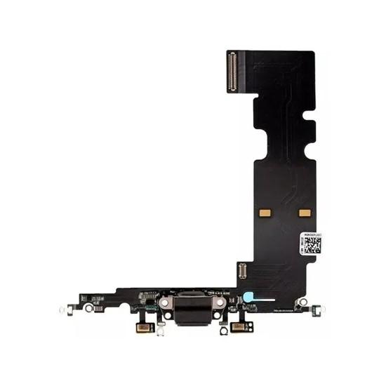 Flex Conector De Carga Apple Iphone 8 Plus Preto