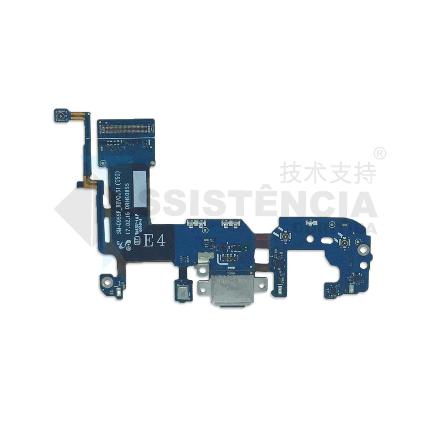 Flex Conector de Carga Samsung Galaxy S8 Plus S8+ G955F G955FD