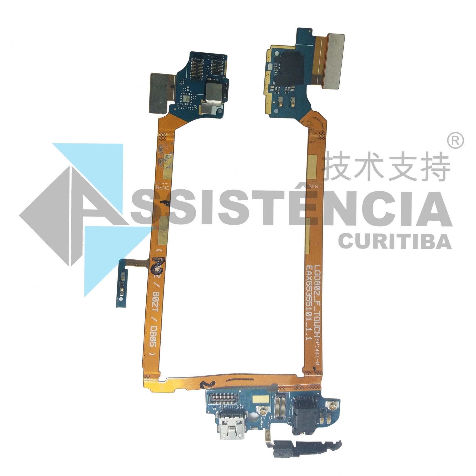 Flex Conector De Carga Dock Usb Lg G2 D805 D802