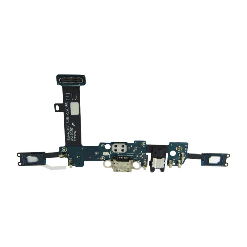Flex Conector De Carga Dock Usb Microfone Samsung A3 A310F Versão F Original