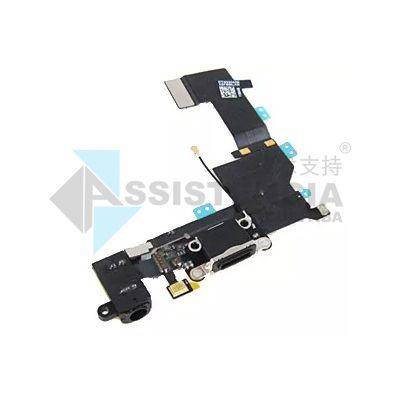 Flex Conector De Carga E Fone Apple Iphone 5S Preto