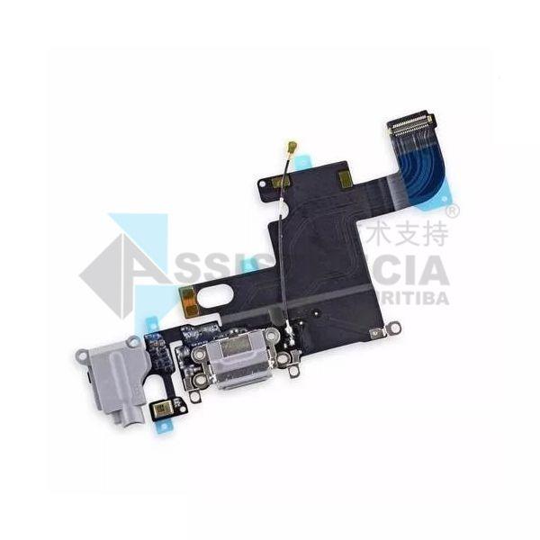 Flex Conector De Carga E Fone Apple Iphone 6G Original Branco