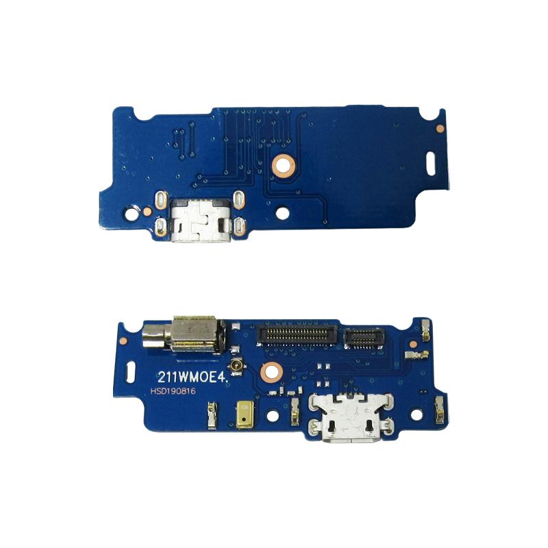 Flex Conector De Carga Microfone E Vibra Motorola Moto E4 Xt1762