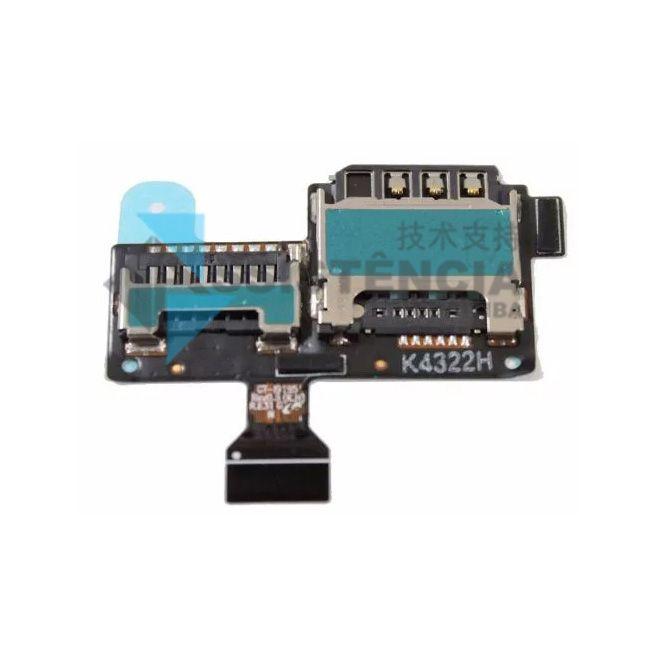 Flex Conector De Chip Samsung Galaxy S4 Mini I9192 I9195 I9190