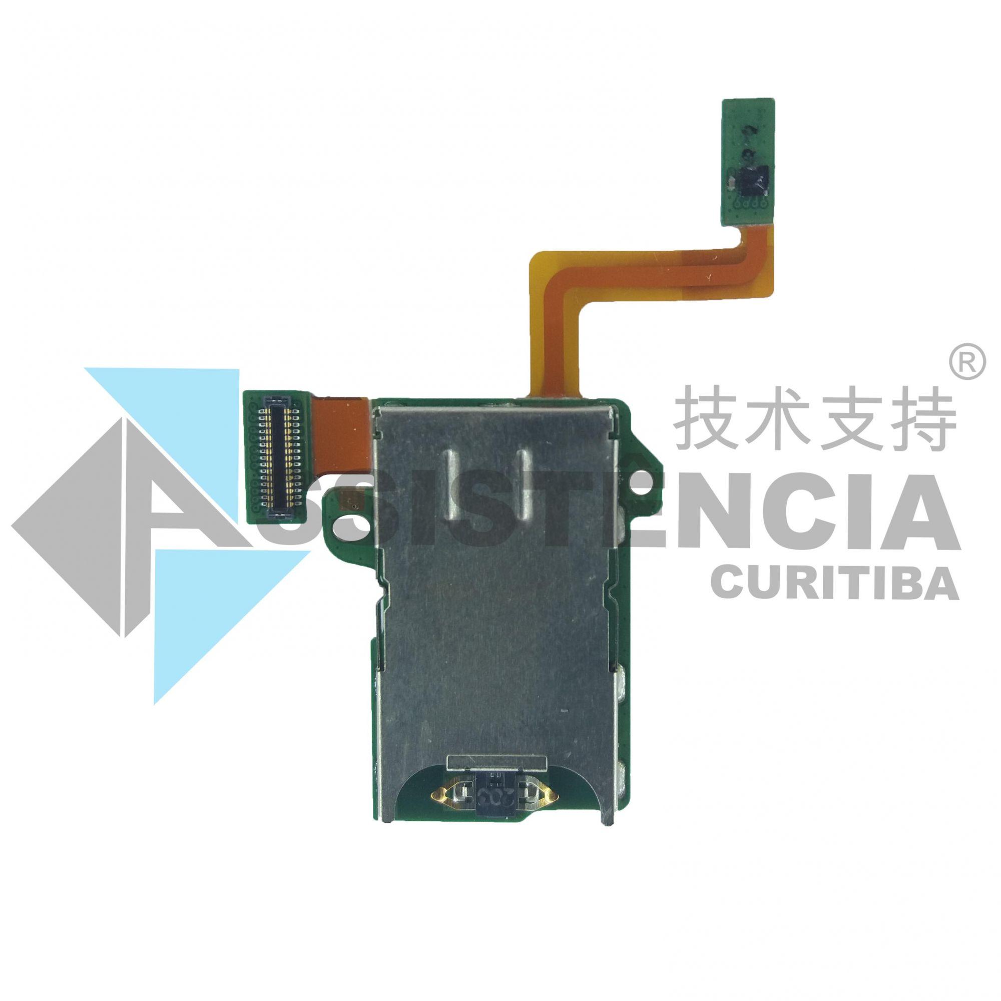 Flex Conector Slot Chip Sim Card Motorola Moto Z Play